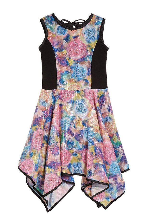Poppy Sequin Floral-DRESS-Zoë Ltd-sizes 7 to 16- Spring 2020