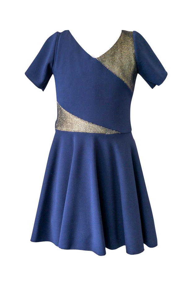 Mix Media | NAVY & GOLD | ROYAL-Zoë Ltd-Fall Collection-Dresses 7-16