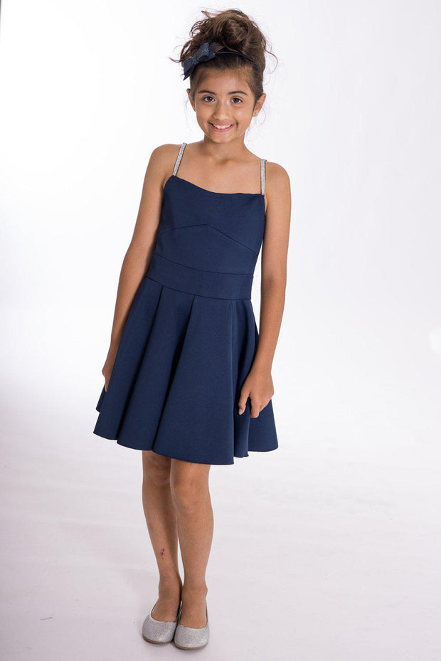 Alana Navy-DRESS-Zoë Ltd-sizes 7 to 16- Spring 2020