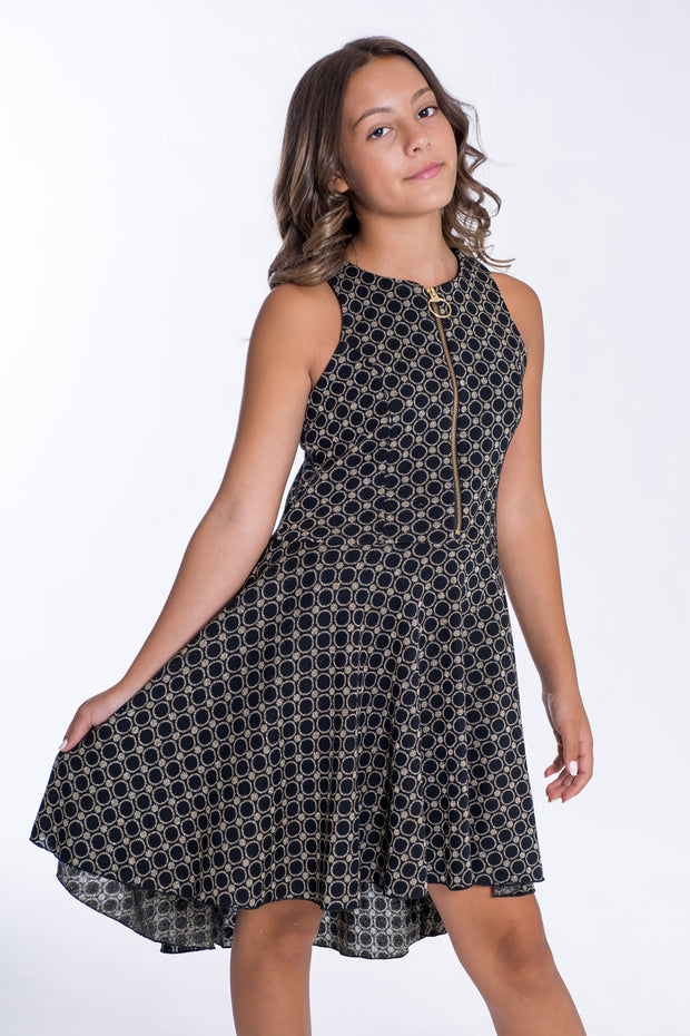 Ally | Black & Gold-DRESS-Zoë Ltd- Sizes7-17-New arrivals-Fall 2019