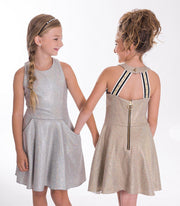 Last Dance Foil-DRESS-sizes 7-16-Zoë Ltd