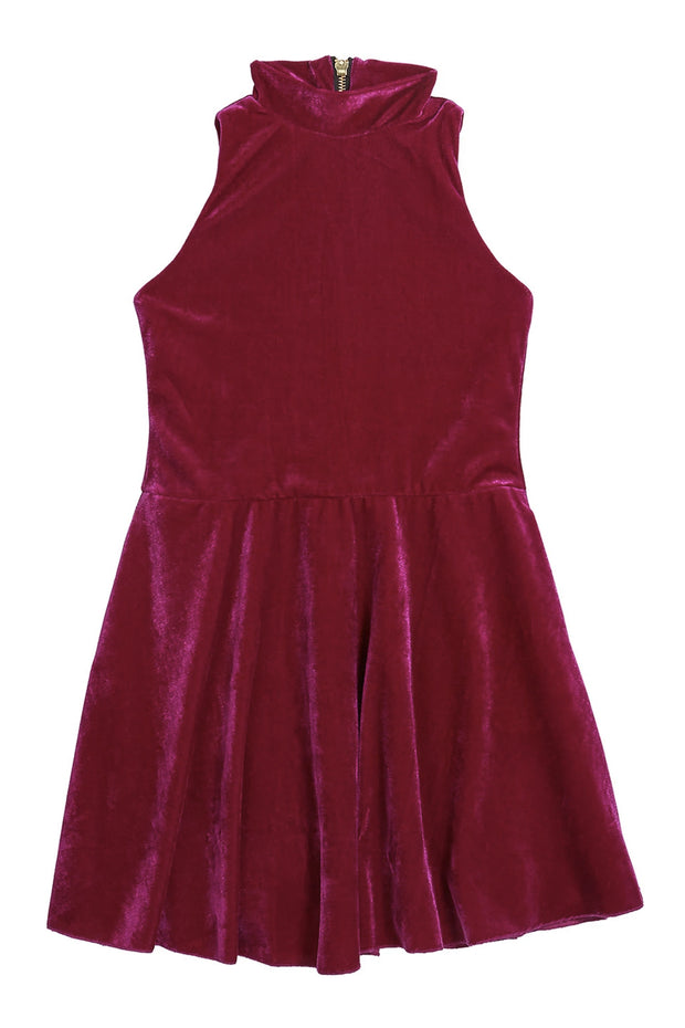 Nicole velvet-DRESS-sizes 7-16-Zoë Ltd