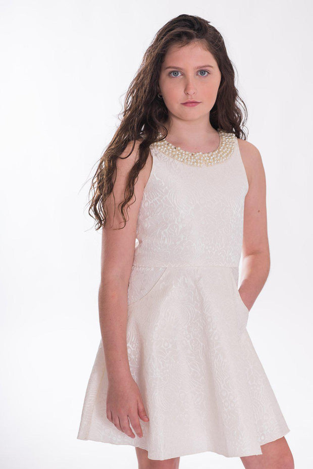 Sally Brocade | Online Exclusive-Dress-Sizes 7-16-Zoë Ltd