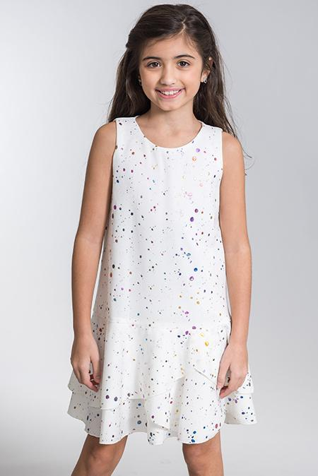 Isla Splatter Dress | Online Exclusive-DRESS-Sizes 4-16-Zoë Ltd