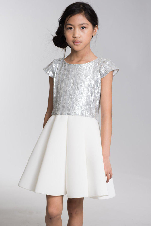 Lark Silver-Dress-Sizes 7-16-Zoë Ltd