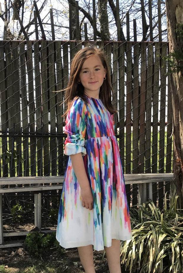 Easy Fit | Tie Dye | Midi