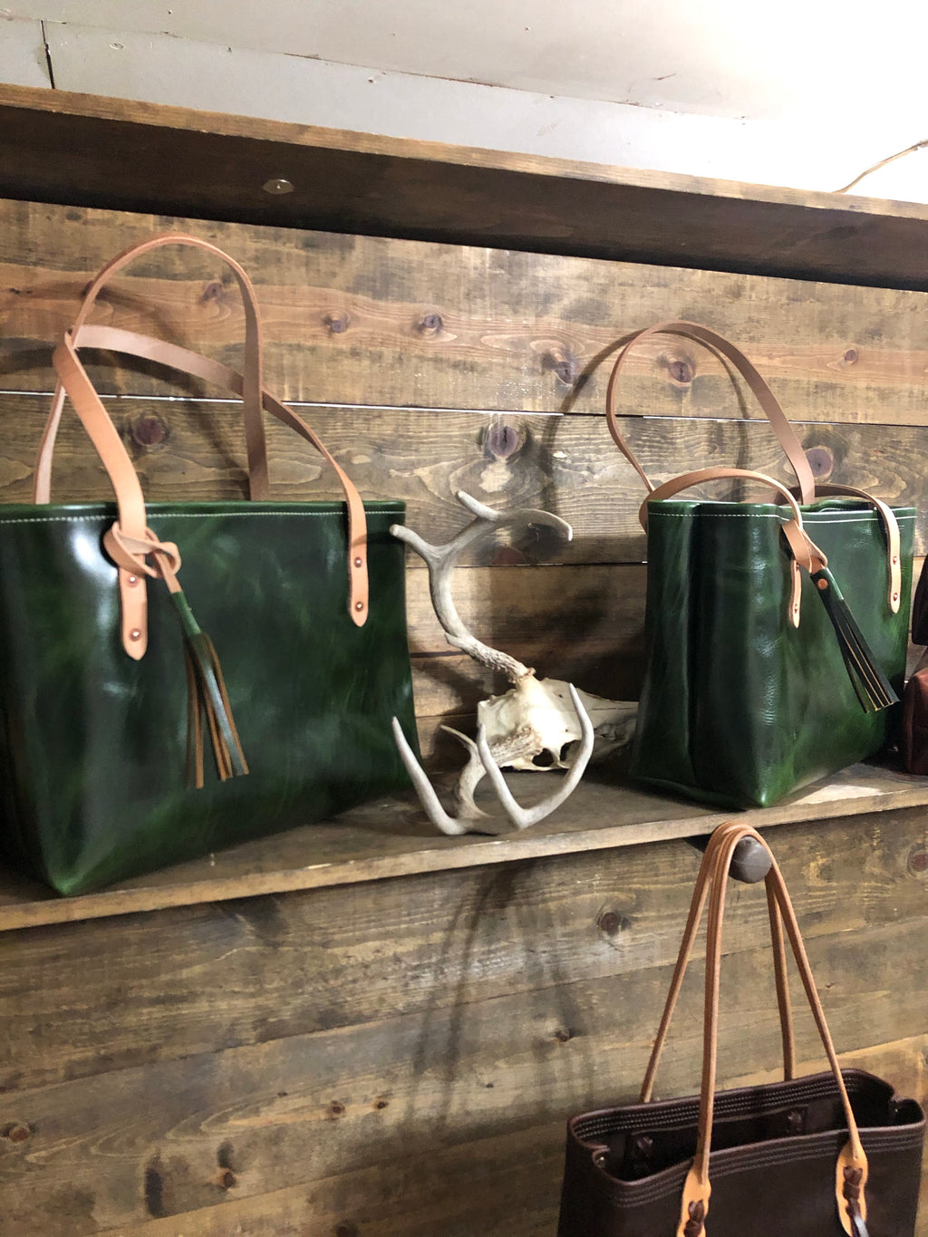 The Standard Tote - Emerald GenX