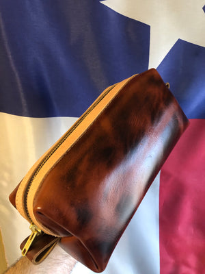 British Tan Gen-X  Dopp Kit
