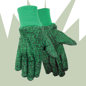 Zoohands Alligator Print Childrens Gardening Gloves 2 Pair Pack