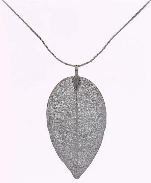 Collier Feuille autumnale