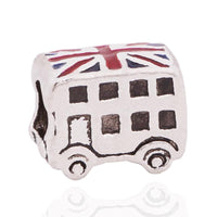 Charm British Bus émail Union Jack Flag