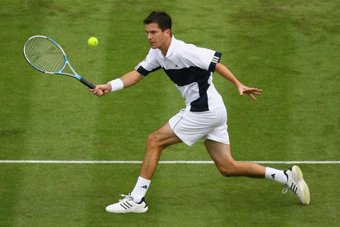 Henman takes a volley