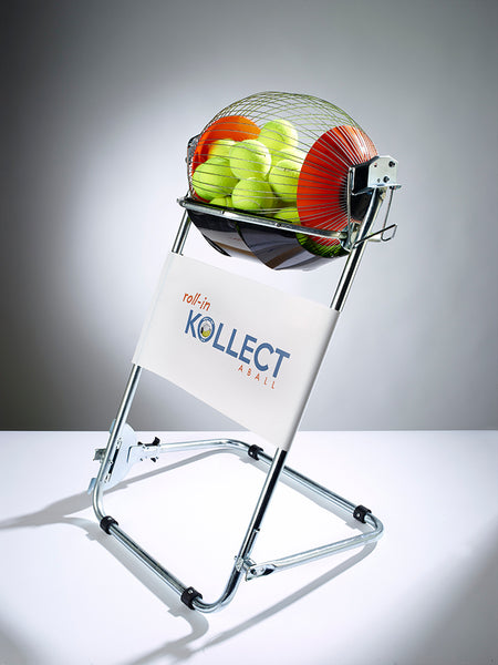 Kollectaball CS60 Tennis Ball Collector With Plain Banner