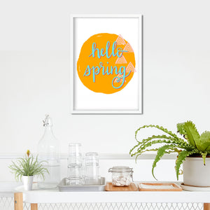 Hello Spring Print- Digital Download