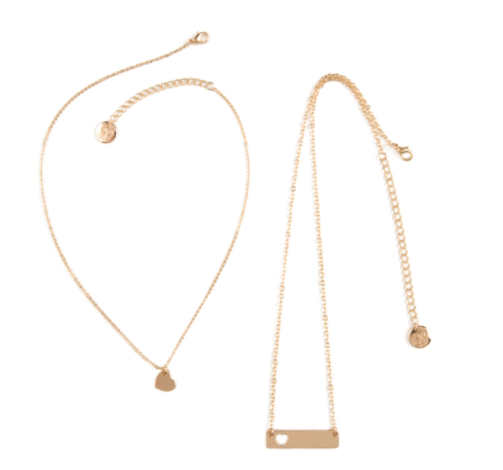 You and Me Necklace Set