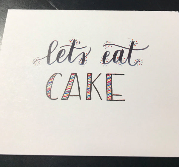 Let's Eat Cake