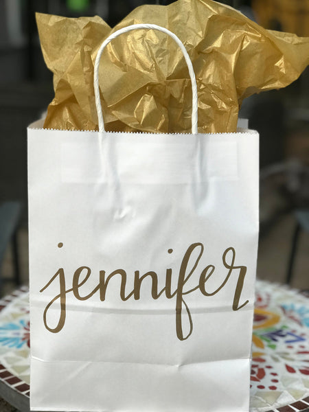 Personalized Gift Bags
