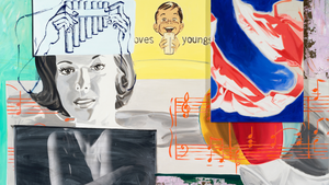 DAVID SALLE'S NEW PAINTINGS