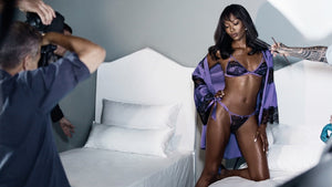 NAOMI CAMPBELL LAUNCHES LINGERIE COLLECTION
