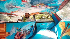 THE TAXI FABRIC PROJECT'S CARS