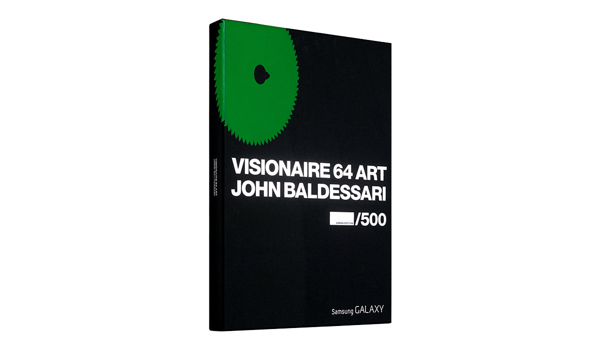 VISIONAIRE 64 ART JOHN BALDESSARI GREEN EDITION