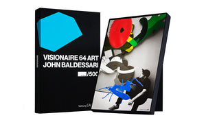 VISIONAIRE 64 ART JOHN BALDESSARI BLUE EDITION