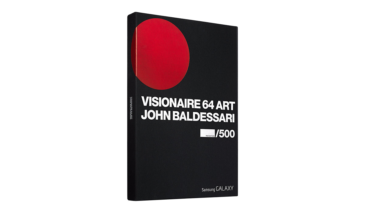 VISIONAIRE 64 ART JOHN BALDESSARI RED EDITION