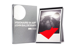 VISIONAIRE 64 ART JOHN BALDESSARI SIGNED PLATINUM EDITION