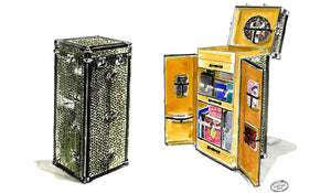 THE VISIONAIRE COLLECTION: GOYARD TRUNK