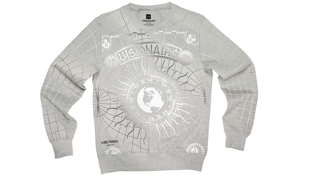 VISIONAIRE X GAP SWEATSHIRT <br> GREG FOLEY