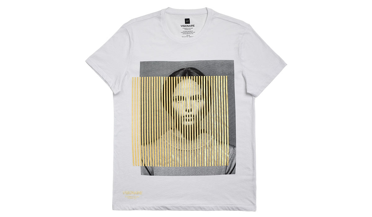 VISIONAIRE X GAP T-SHIRT <br> BLOMMERS AND SCHUMM