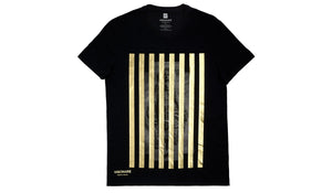 VISIONAIRE X GAP T-SHIRT <br> PIERPAOLO FERRARI BLACK GOLD
