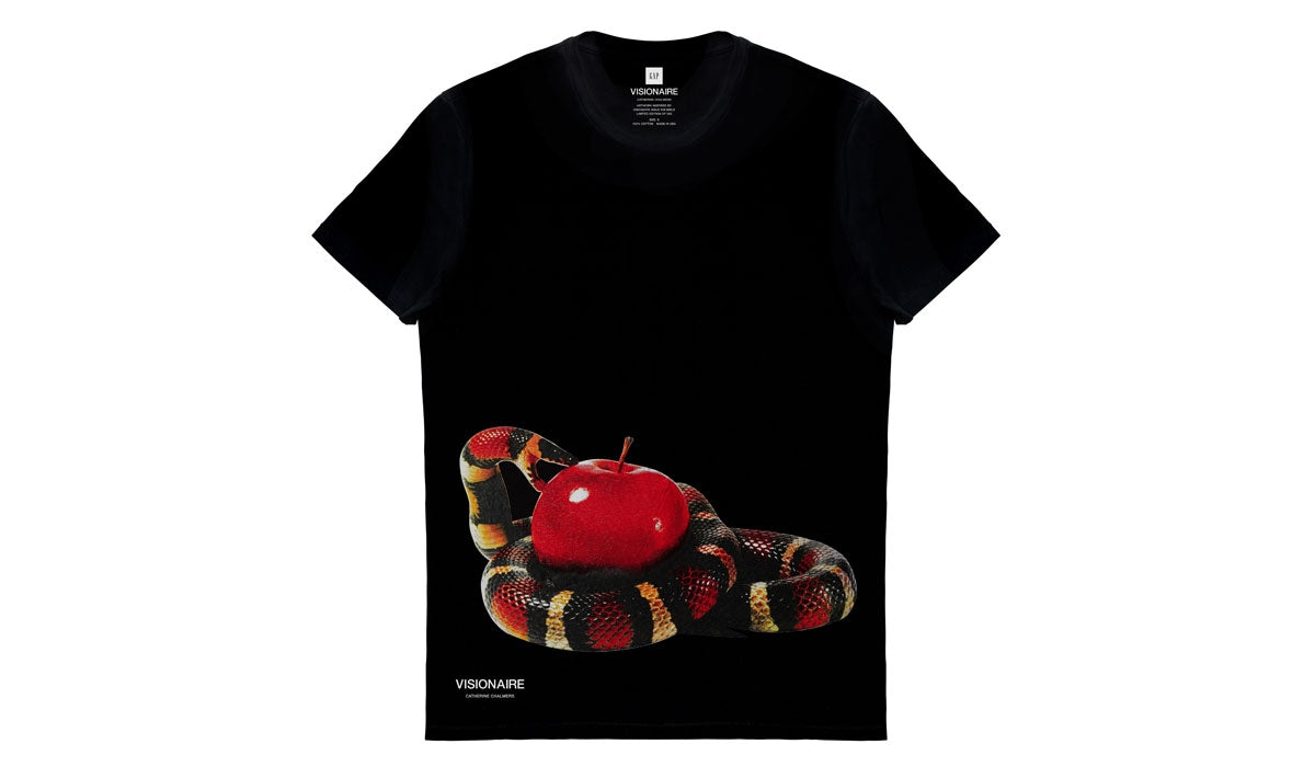 VISIONAIRE X GAP T-SHIRT <br> CATHERINE CHALMERS