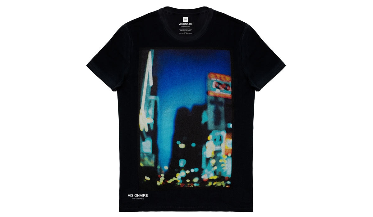 VISIONAIRE X GAP T-SHIRT <br> DAVID ARMSTRONG