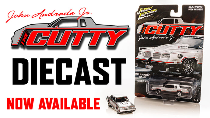 "ALL NEW - John Andrade ""The Cutty"" DIECAST!"
