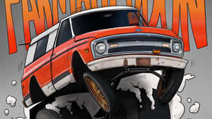Brian Groves - Hoosier207 - Drawing the Farmtruck