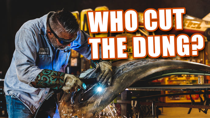 WELDER UP LAS VEGAS CUTS OPEN THE DUNG BEETLE