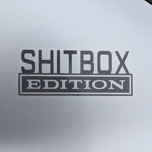 shitbox edition sticker car crappy car stickers decal decals