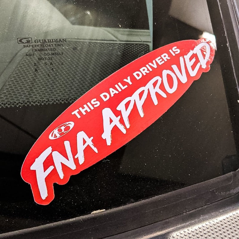 farmtruck and azn daily driver approved sticker stickers decals decal