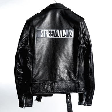 Street Outlaws Steerhide Leather Motorcycle Women's Jacket