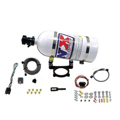 Nitrous Express - 2011-Up 5.0 COYOTE PLATE SYSTEM (35-200HP) W/ 10LB BOTTLE