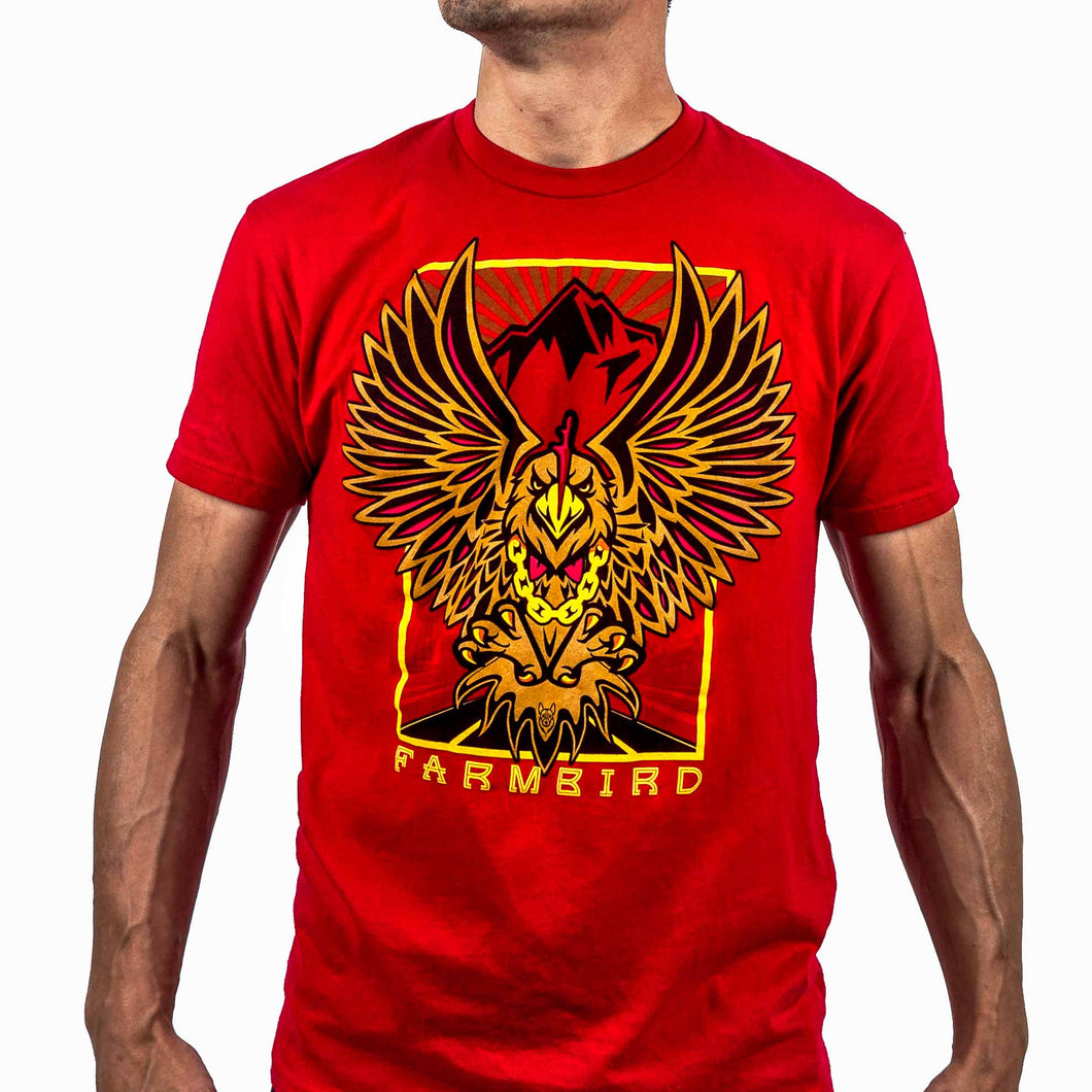 Farmbird Red T-Shirt