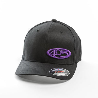 Black w/ Purple 405 Hat