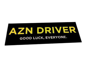 AZN Driver Decal