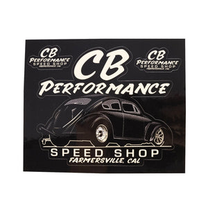 CB Performance Speed Shop Sticker Sheet