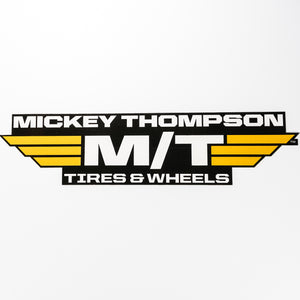 Mickey Thompson Tires & Wheels Decal