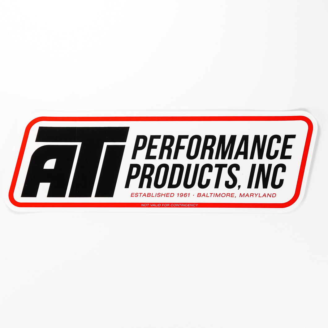 ATI Performance Products Decal