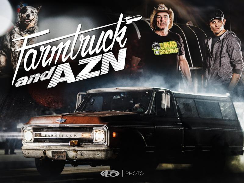 Farmtruck and Azn Poster 18x24