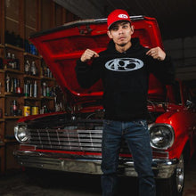 Azn standing in front of 1964 Chevy Nova he calls Chebby 2