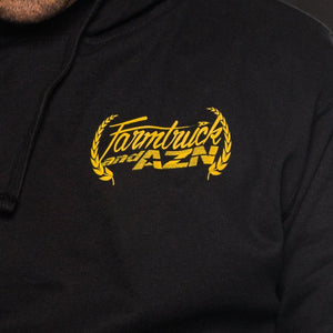 FARMTRUCK AND AZN DRIVING SCHOOL LEARN AND BURN STREETOUTLAWS pullover